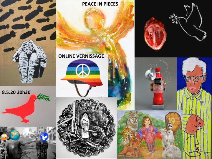 Online Vernissage Peace in Pieces