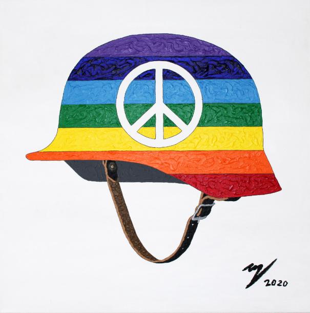 Markus Feiler_PEACE HELMET_Kunst_art_Künstler_artist