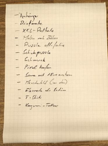 Osborn Checkliste Gruppe 3